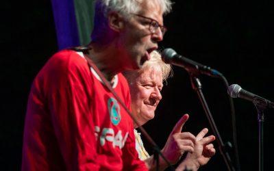Pé en Rinus 40 jaar in het vak