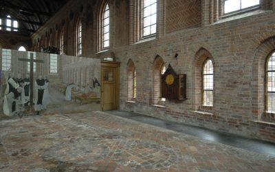Het Kloostermuseum Aduard is weer open in de Abdijkerk
