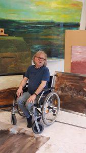 Johan Van Der Dong In Zijn Atelier In Oldehove (2020)