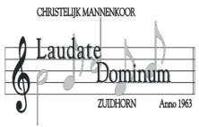 Laudate Dominum Zuidhorn Logo