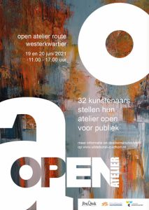 Poster Open Atelier A3