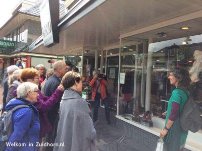 Kunst etalageroute Zuidhorn