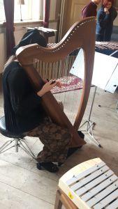 Concert duo Nesje Marimba en Keltische Harp