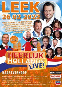 Heerlijk Hollands Live